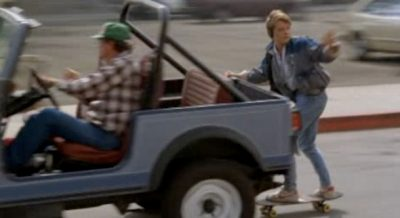 marty truck 12 Ways 'Back to the Future' Is Changed With Marty Using Social Media.