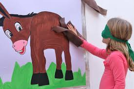 pin the tail 10 Of The Greatest Children's Party Games