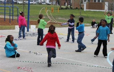 skipping 12 Playground Games We All Used To Play In The 80s