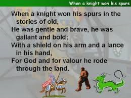 when a knight Do You Remember These Classic Songs We Used To Sing In Assemblies