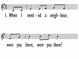 when i needed a neighbour 1 Do You Remember These Classic Songs We Used To Sing In Assemblies