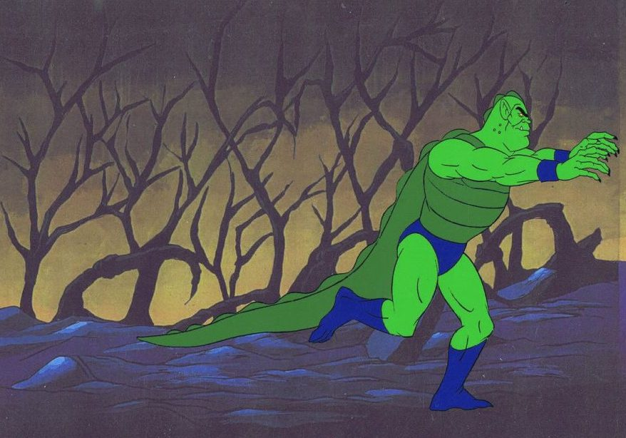 A He-Man animation cell featuring Whiplash