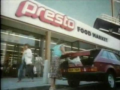 1. Presto 12 Supermarkets We Used To Love To Shop At In The 1980's