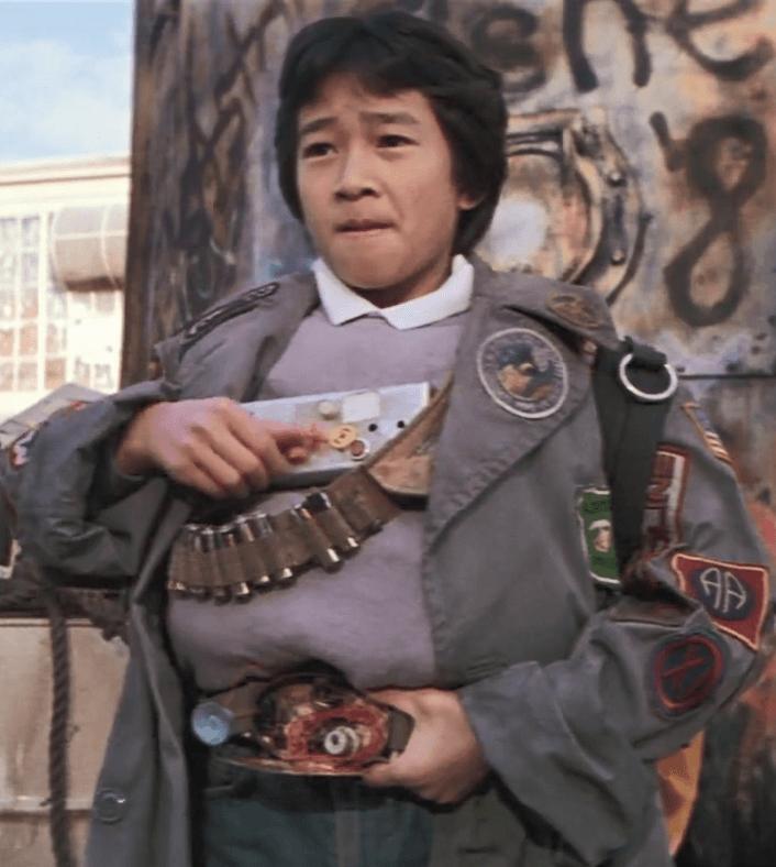 Jonathan Ke Quan as Data in The Goonies