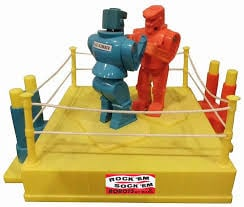 3. Rock em sock em 12 Cracking 80's Toys You May Have Forgotten About