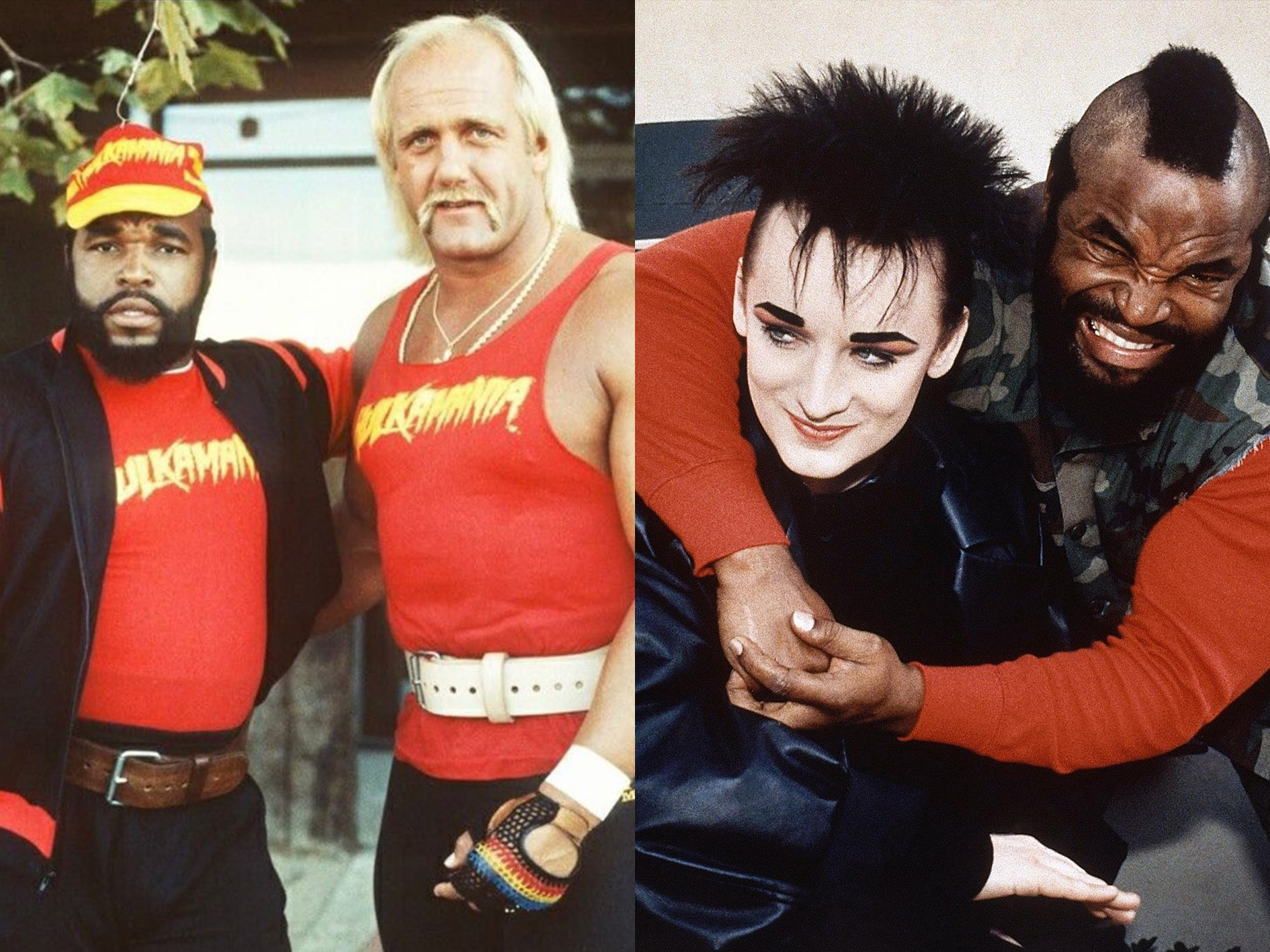 A Team Hulk Hogan Boy George 20 Things You Probably Didn't Know About The A-Team