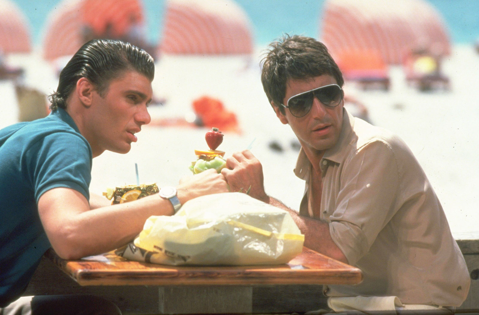 Al Pacino Scarface Steven Bauer Brian De Say Hello To These Little Facts You Probably Didn't Know About Scarface