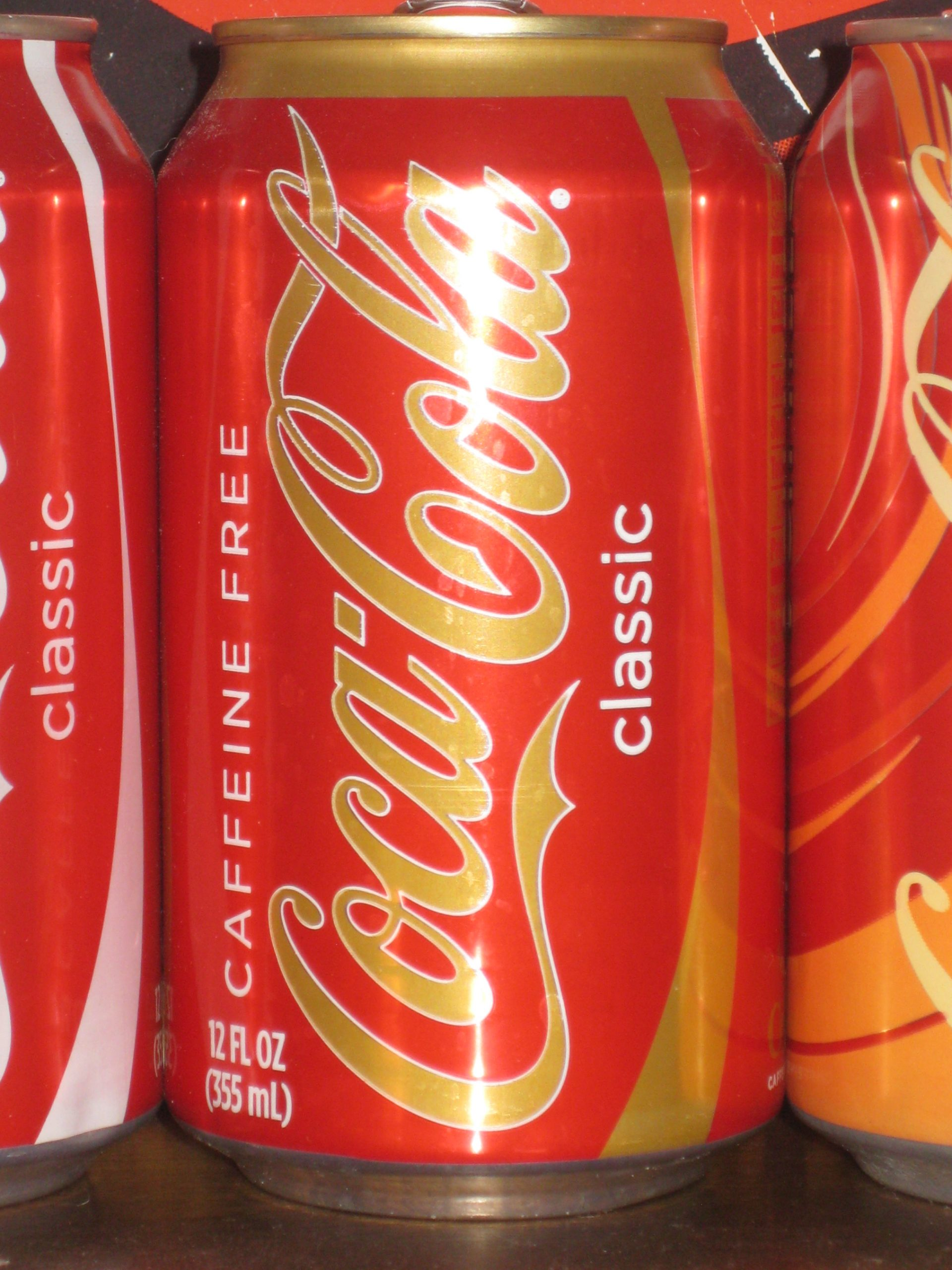 CaffeineFreeCoke scaled 15 Fizzy Drinks That You Might Remember From Your Childhood