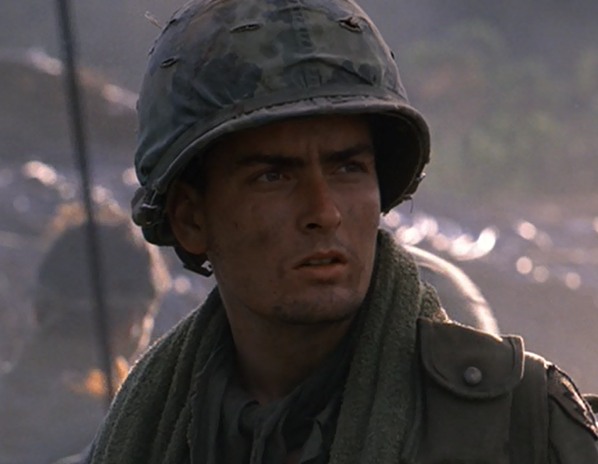 Charlie Sheen in Platoon LOOKIN SEXAY sheenism religion for sheen addicts 32197115 1216 663 e1606732018436 30 Things You Probably Didn't Know About Platoon
