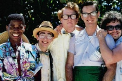 IFC revenge of the nerds group 600x400 28 Of The Funniest 80's Movies Of All Time