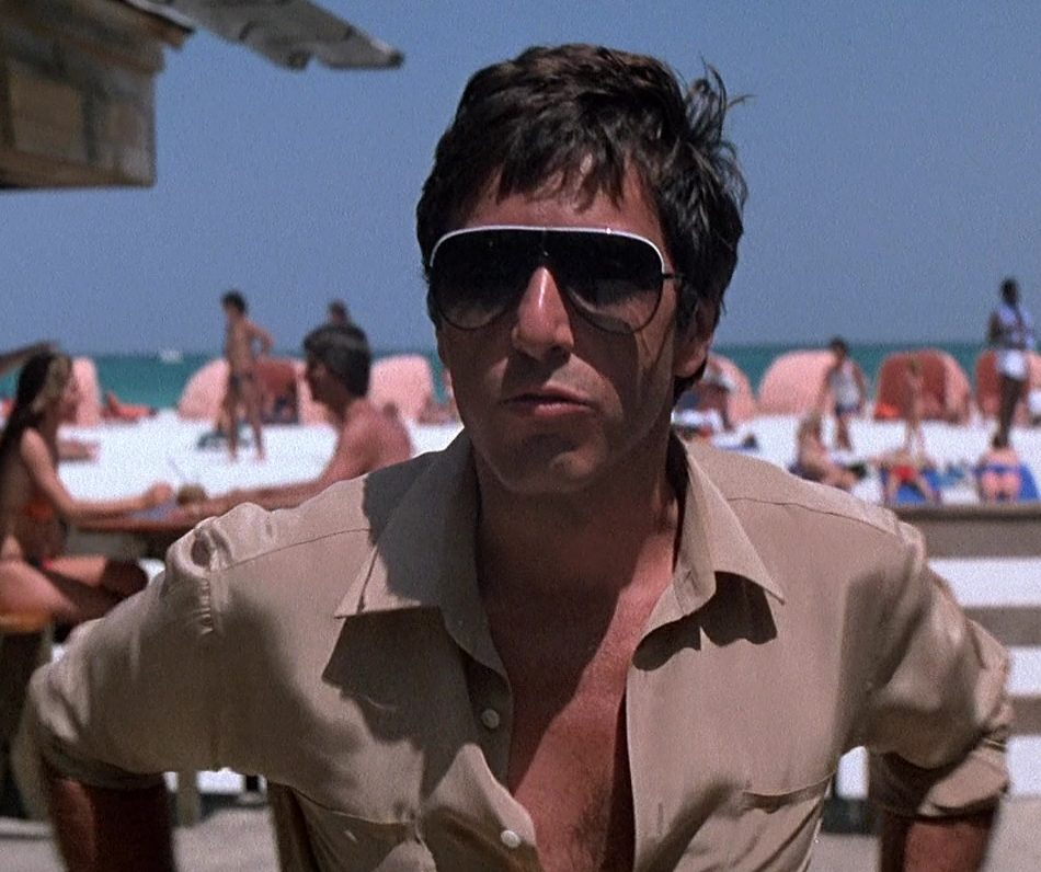 Linda Farrow 6031 Sunglasses Scarface 6 e1620382624642 Say Hello To These Little Facts You Probably Didn't Know About Scarface