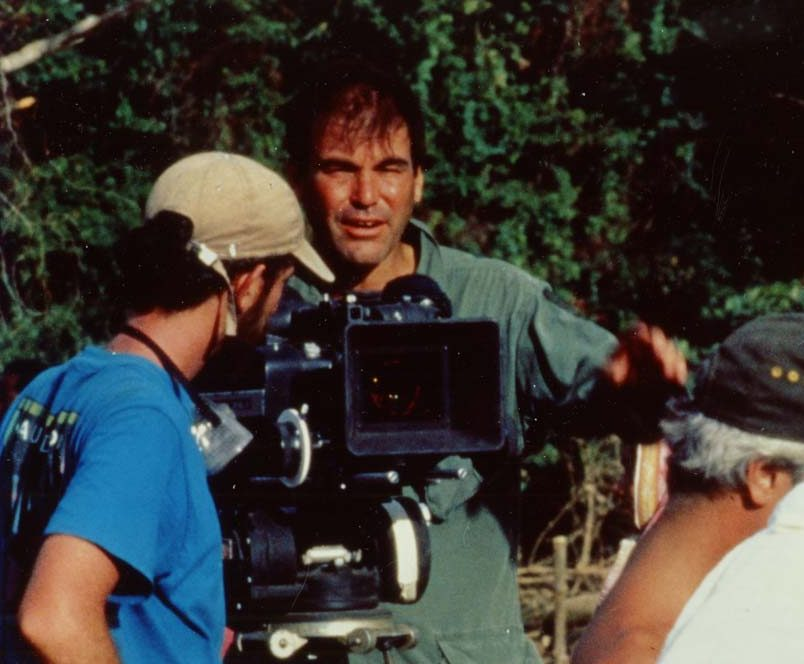 Oliver Stone filming Platoon e1606750957697 30 Things You Probably Didn't Know About Platoon