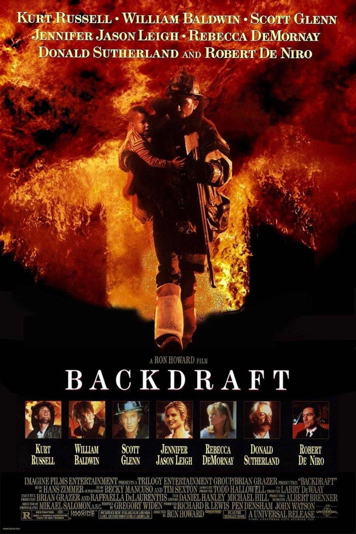 The poster for Backdraft