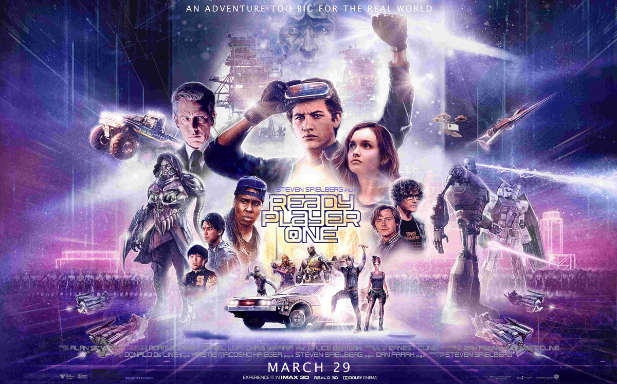 POSTER 12 Classic Film Posters Are Recreated To Promote Spielberg's 'Ready Player One'