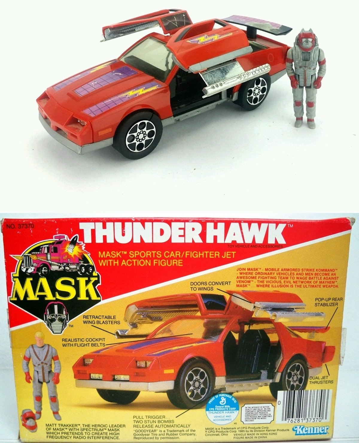 THUNDERHAWK 10 Toys From Our Childhood That Are Now Worth A Lot Of Money