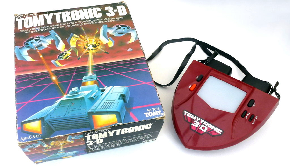 TOMYTRONIC 10 Toys From Our Childhood That Are Now Worth A Lot Of Money