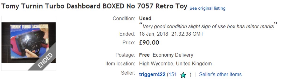 TURBO EBAY 10 Toys From Our Childhood That Are Now Worth A Lot Of Money