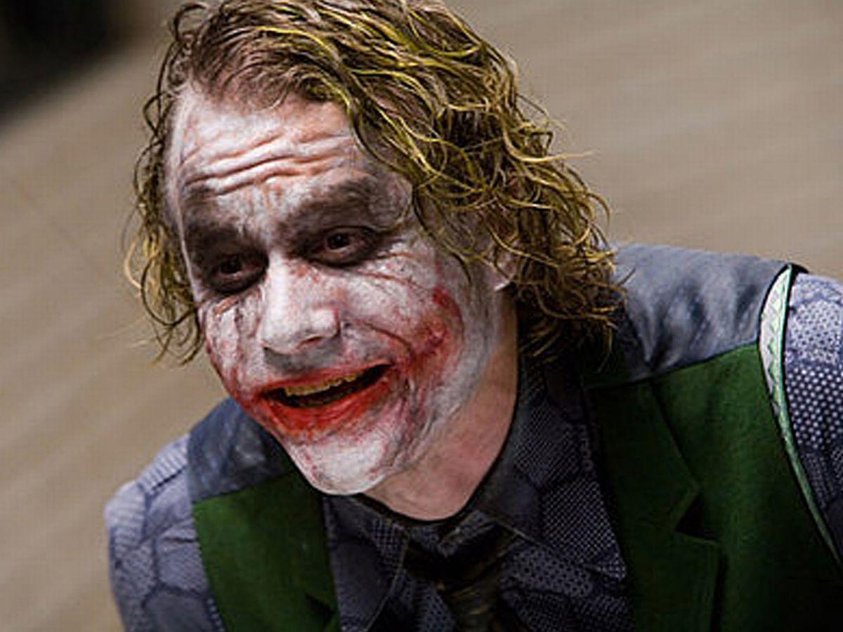 The late actor Heath Ledger portrays the character The Joker 1 Heath Ledger's Joker And Some Disturbing Truths
