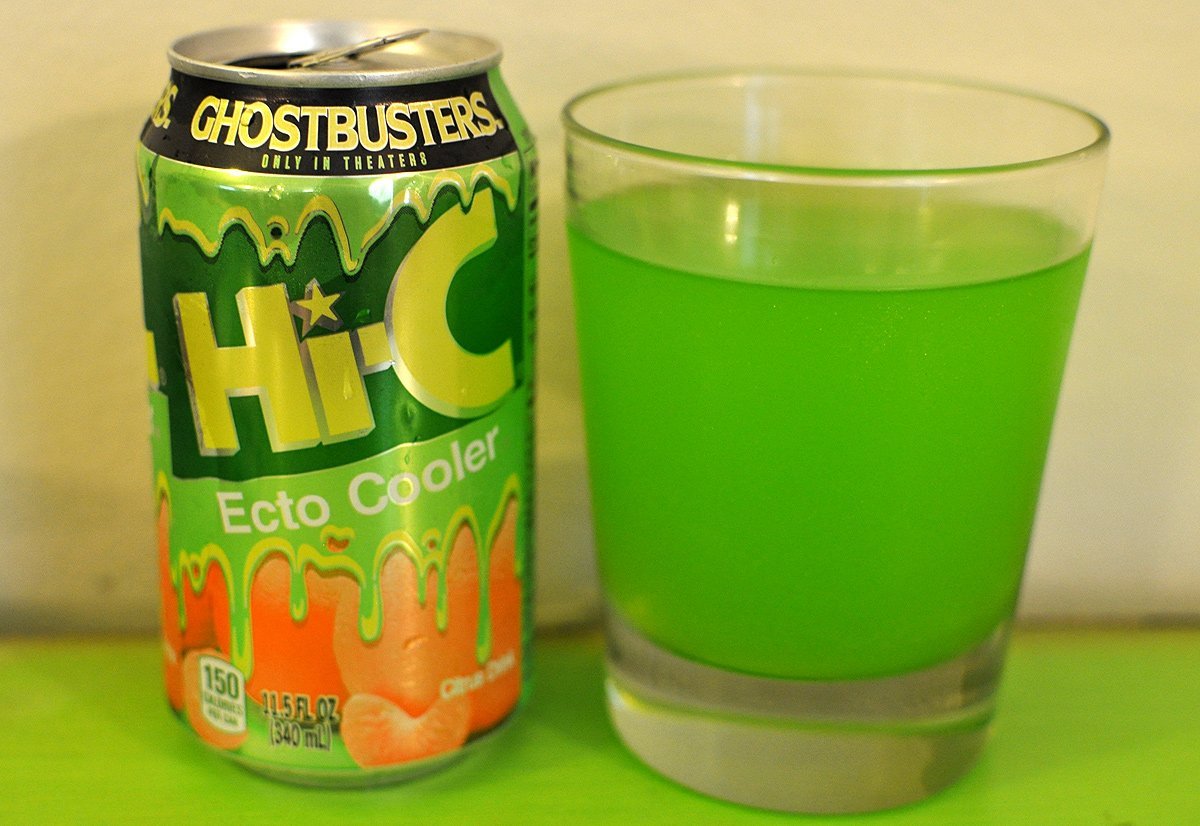 ecto cooler in a glass 15 Fizzy Drinks That You Might Remember From Your Childhood
