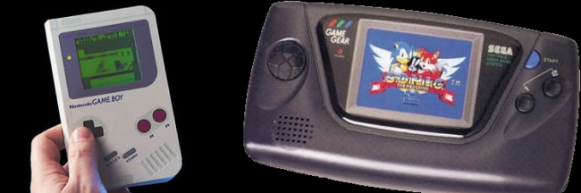 gameboy and gear Nintendo Game Boy Vs Sega Game Gear - Which Was Your Favourite?