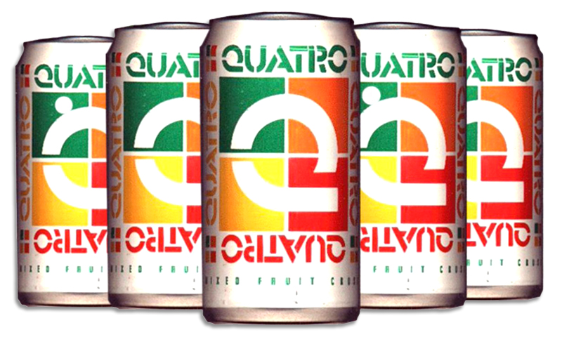 quatro2 15 Fizzy Drinks That You Might Remember From Your Childhood