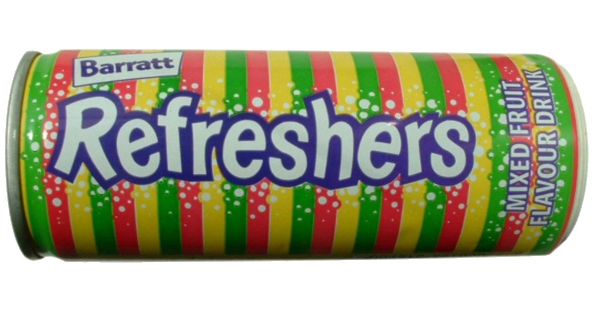 refresherscanredo 15 Fizzy Drinks That You Might Remember From Your Childhood