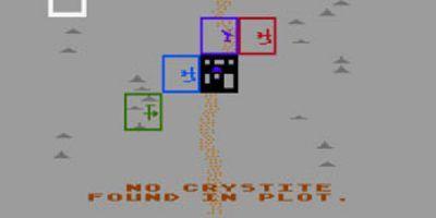 A screenshot from M.U.L.E.