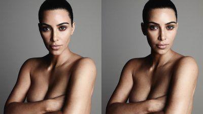 1. 1 Kim Kardashian Releases Racy Photos For New Fragrance Ads