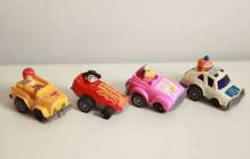 10. McDonalds Pull back cars 12 Of The Best Freebie Collectables That We Loved In The 80s
