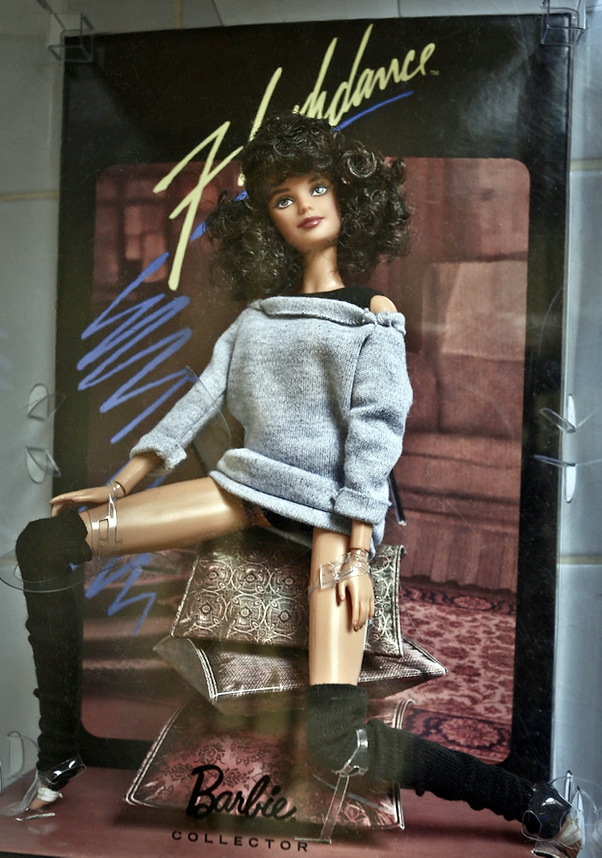 limited edition flashdance barbie doll
