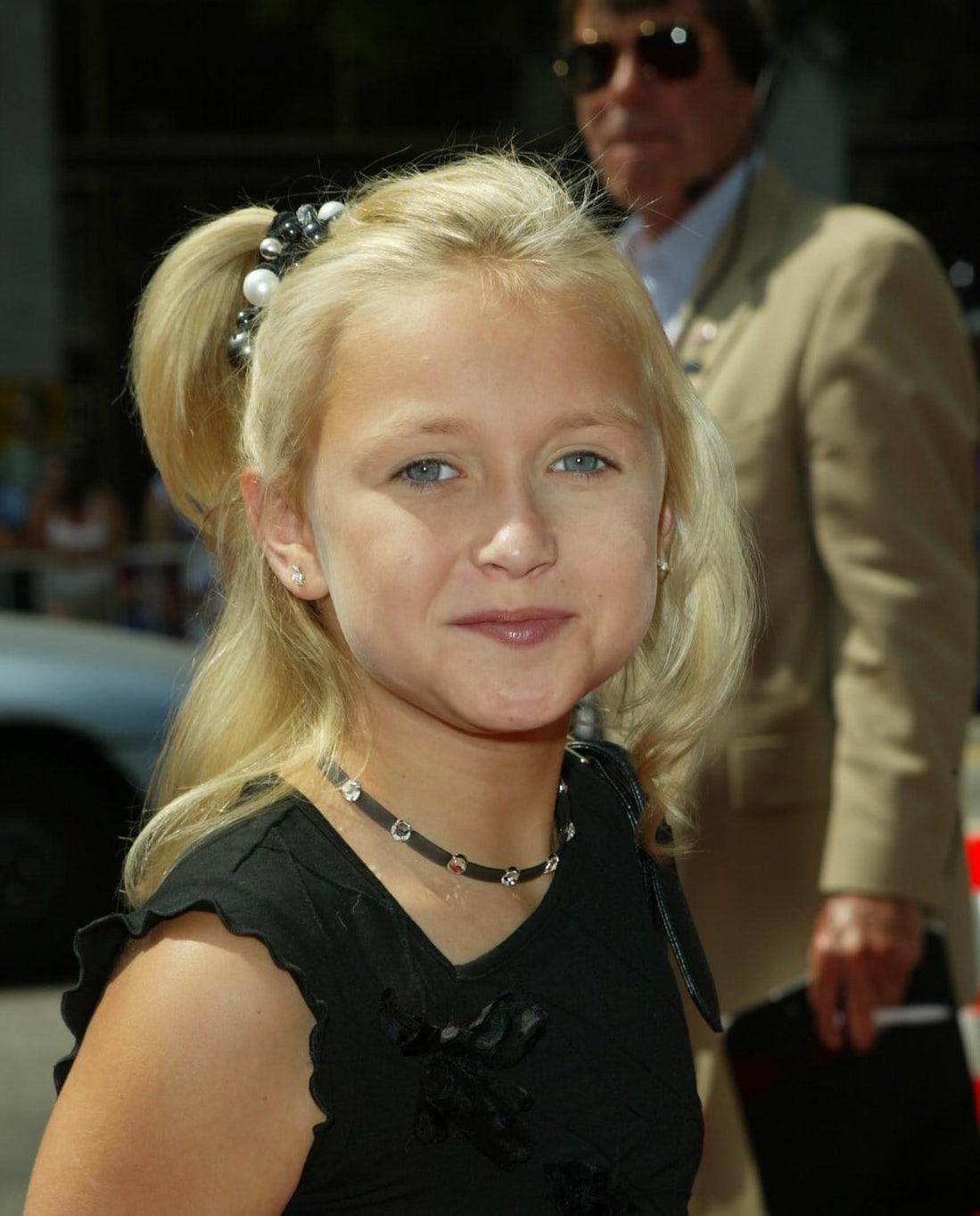 Skye McCole Bartusiak as a child star
