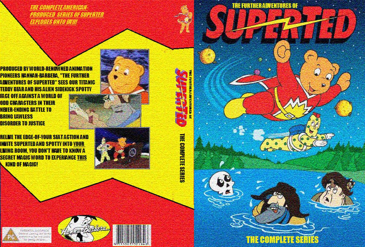 SuperTed VHS packaging