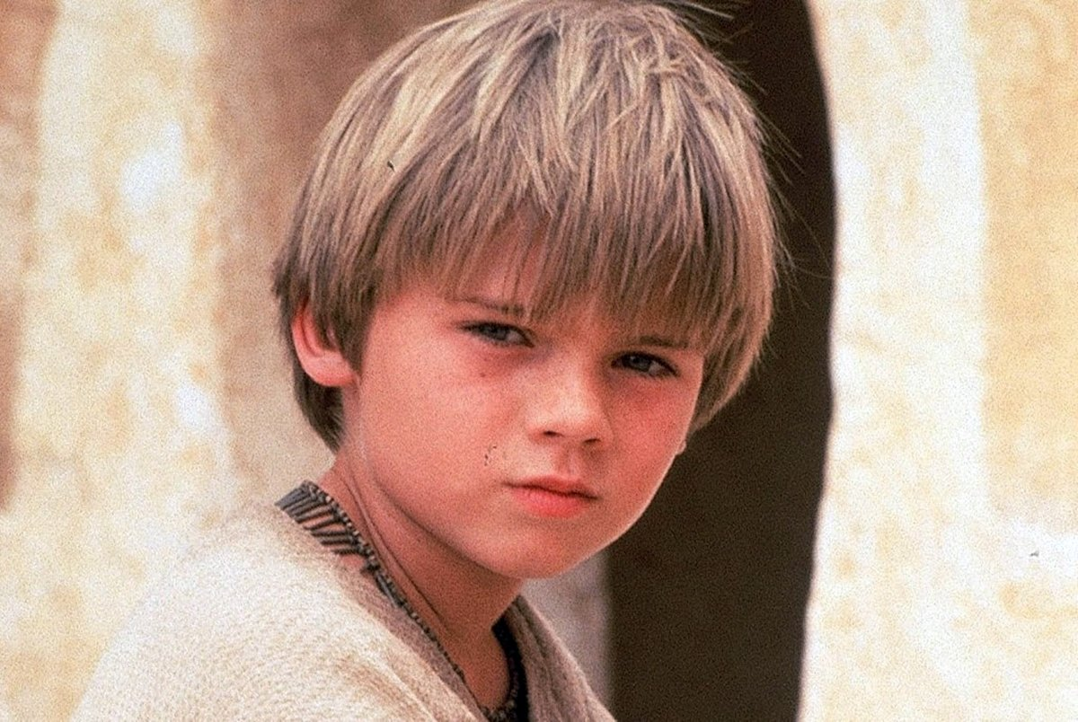 Jake Lloyd as young Anakin