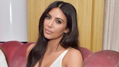 2. 35 Kim Kardashian Releases Racy Photos For New Fragrance Ads