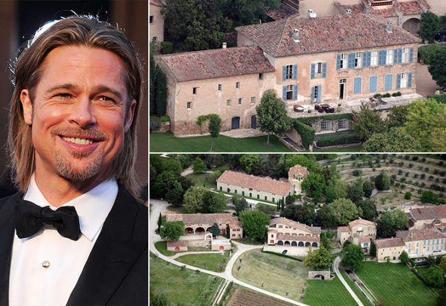 24Brad Pitt RC These 17 Spectacular Celeb Houses Will Seriously Blow Your Mind