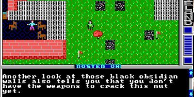 A screenshot from Wasteland