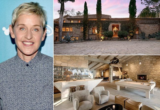 36Ellen DeGeneres These 17 Spectacular Celeb Houses Will Seriously Blow Your Mind