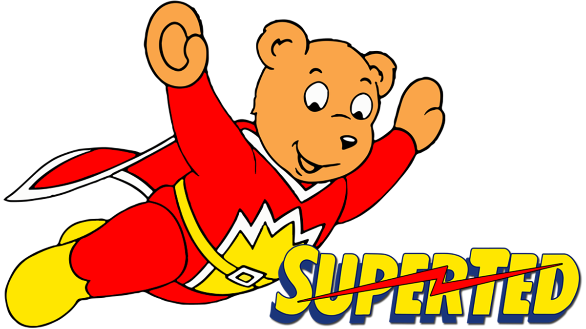 A cartoon image of Superted