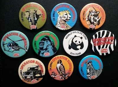 6. Golden Wonder badges 12 Of The Best Freebie Collectables That We Loved In The 80s