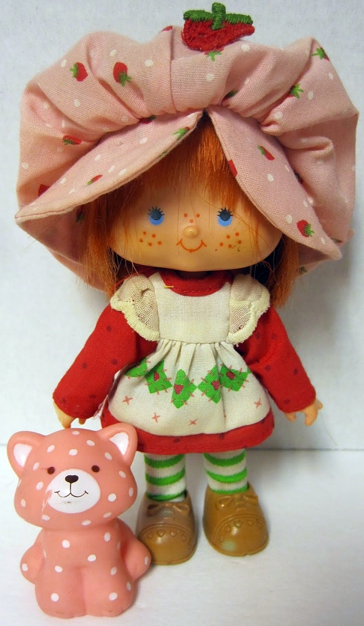 A Strawberry Shortcake doll from the 80s