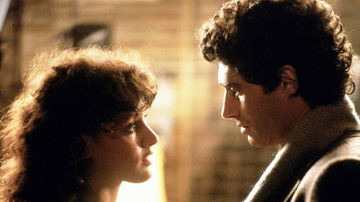 Alex and Nick in Flashdance