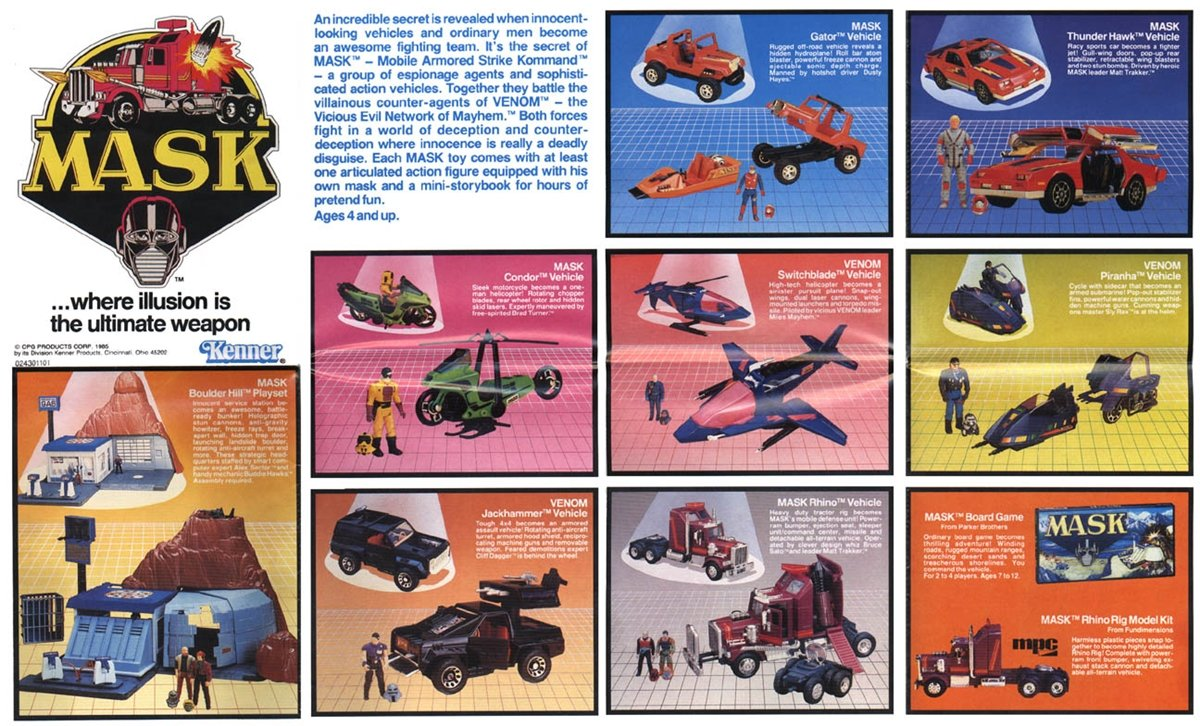 7 16 This Is The News M.A.S.K. Fans Have Been Waiting 30 Years For!