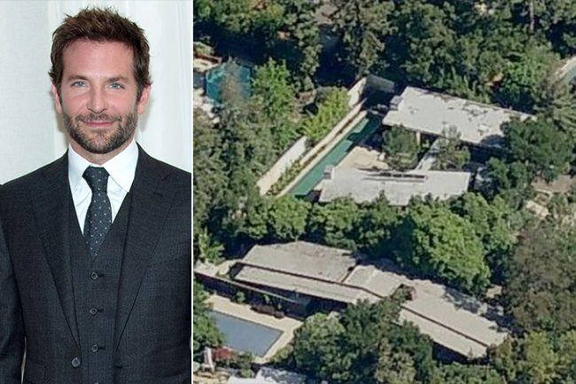 86Bradley Cooper m These 17 Spectacular Celeb Houses Will Seriously Blow Your Mind
