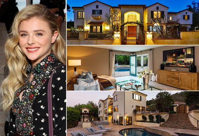 8Chloë Grace Moretz These 17 Spectacular Celeb Houses Will Seriously Blow Your Mind