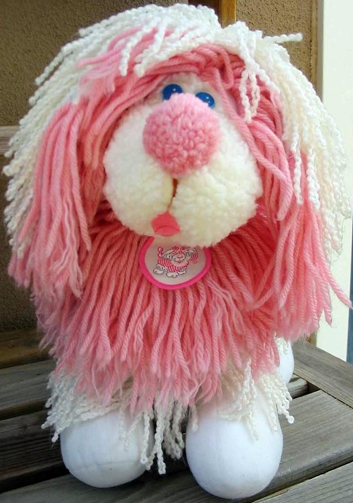 A Fluppy Dog toy