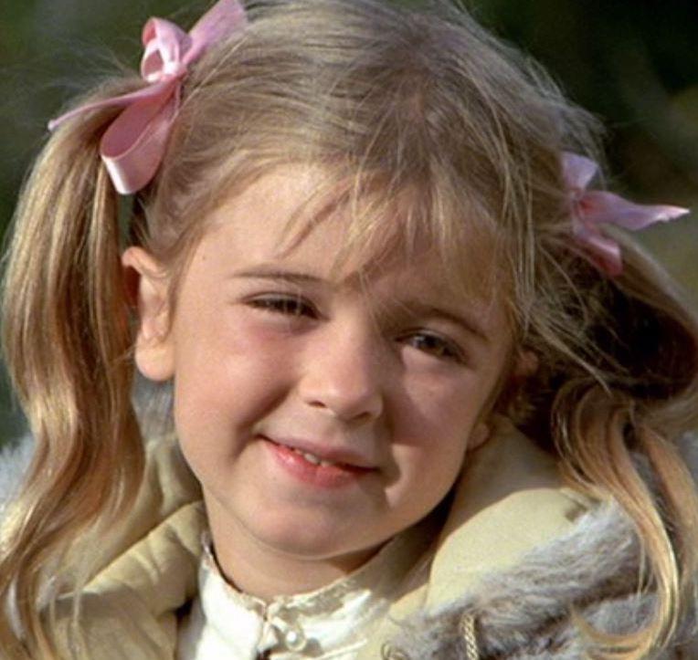 Bridgette Anderson as a child
