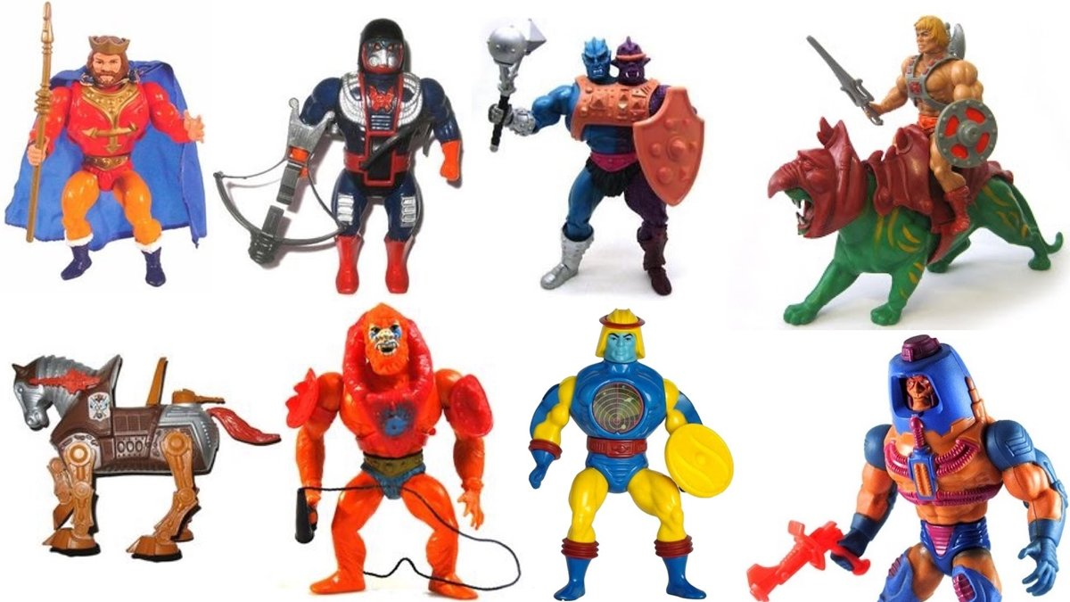 COLLECTION 10 He-Man And She-Ra Toys That Are Now Worth A Lot Of Money