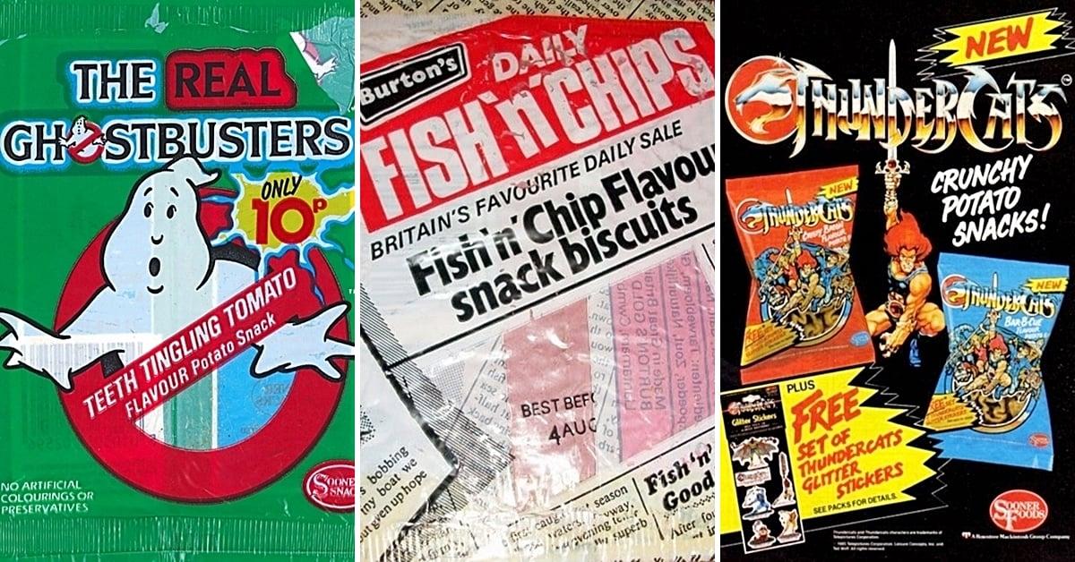 20 Childhood Crisps You've Probably Forgotten About