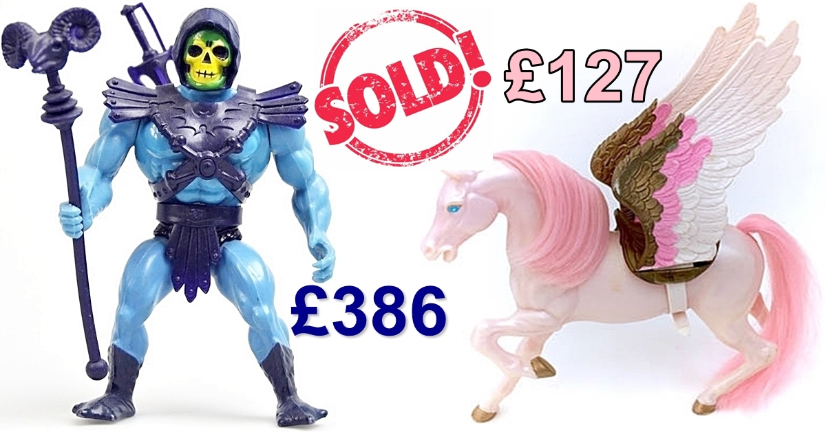 10 He-Man And She-Ra Toys That Are Now Worth Alot Of Money