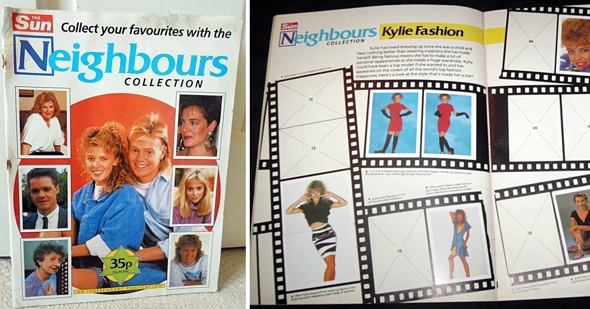The Neighbours Sticker Album! What Stickers Were There To Collect?